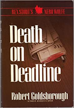 Book Rex Stout's Nero Wolfe-Death on Deadline