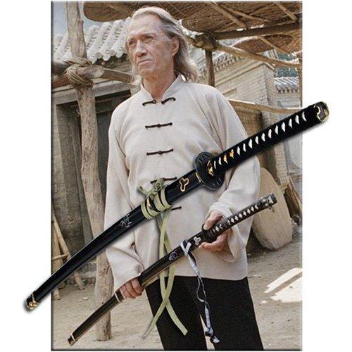 Hattori Hanzo Kill Bill Samurai Katana Sword W/ Devil 2