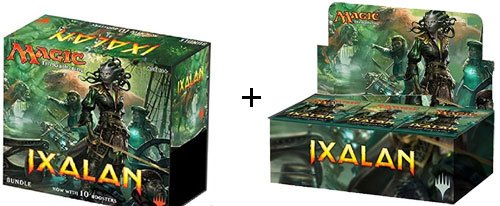 Magic the Gathering: Ixalan Booster Display Box + Bundle Box by Magic The Gathering