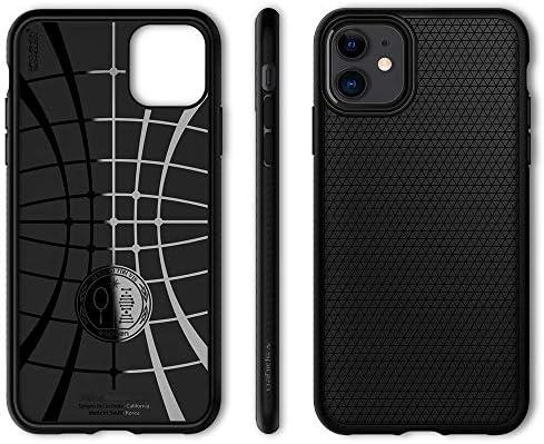 Spigen Liquid Air Armor Designed for iPhone 11 Case (2019) - Matte Black