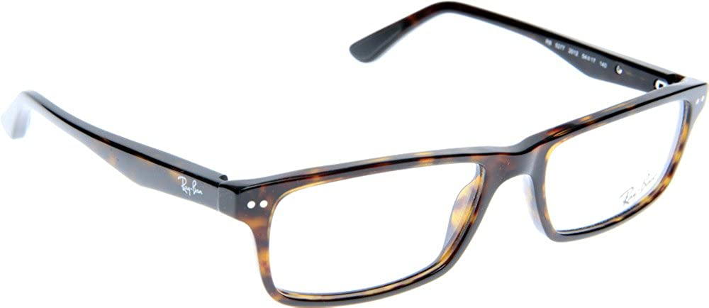 80526406aa Amazon.com  Ray-Ban Men s RX5277 Eyeglasses Dark Havana 54mm  Shoes