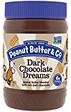 Peanut Butter & Co. Dark Chocolatey Dreams Peanut Butter, Non-GMO Project Verified, Gluten Free, Vegan, 16 oz Jars (Pack of 6)