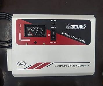Skyland 4KVA 150v 280v Electronic Economy Voltage Stabilizer  FPT AC, Refrigerator  Specially Designed for Air Conditioner Upto 1.5 ton