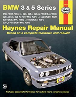 Bmw 3 series service manual 1984 1990 bentley publishers bmw 3 5 series 8292 haynes repair manuals fandeluxe Gallery