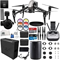 DJI Inspire 2 Premium Combo with Zenmuse X5S and CinemaDNG and Apple ProRes Licenses Videographer 480G PRO Bundle