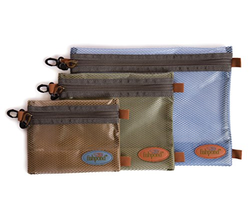 Fishpond Eagle's Nest Travel Zipper Pouch Large Blue