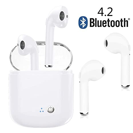 Auriculares Bluetooth, auriculares inalámbricos, auriculares deportivos. El auricular inalámbrico Bluetooth in-ear