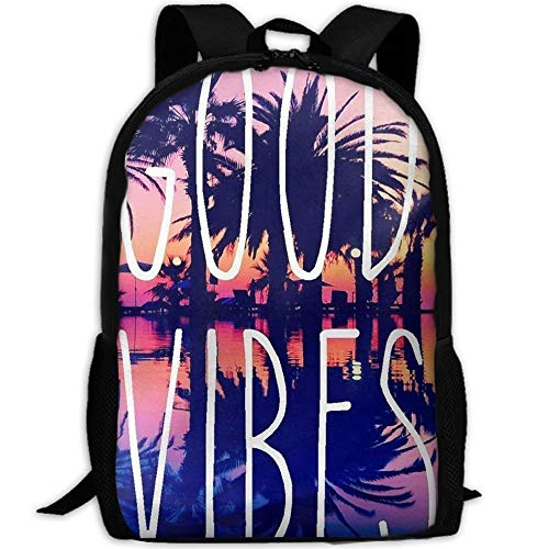 DKFDS Backpacks 3D Summer Trees Good Vibes School Bookbags for Teens, Backpack College Bags young people Daypack]()