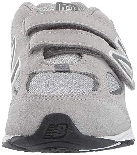 New Balance Boys' 888v2 Hook and Loop Running Shoe, Grey, 2 M US Infant by New Balance (Image #4)