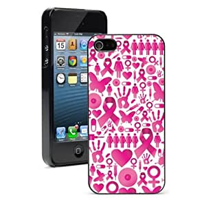 For iPhone 4 4S Hard Case Cover Breast Cancer Awareness