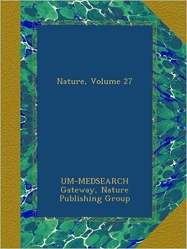 Book Nature, Volume 27