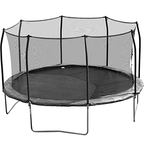 Skywalker Trampoline Net for 15ft Trampoline Enclosure using 8 Poles and Straps - NET ONLY