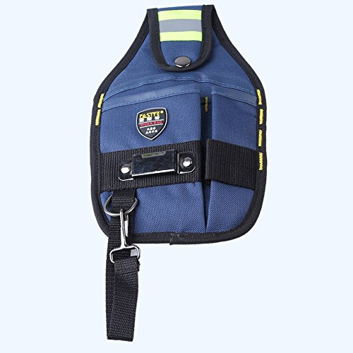 Suede Utility Bag (Ouba Custom Tool Belt Utility Pouch Professional Electrician Tool Bag Holder 3)