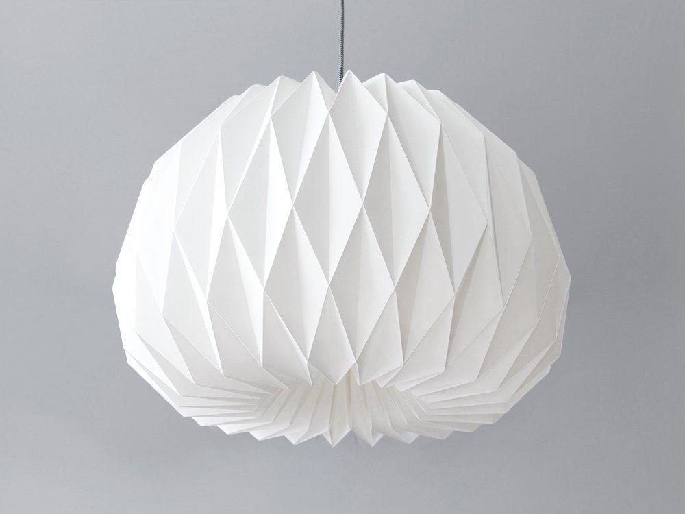 FACING THE MOON XL ◉◉◉ Origami-Lampenschirm