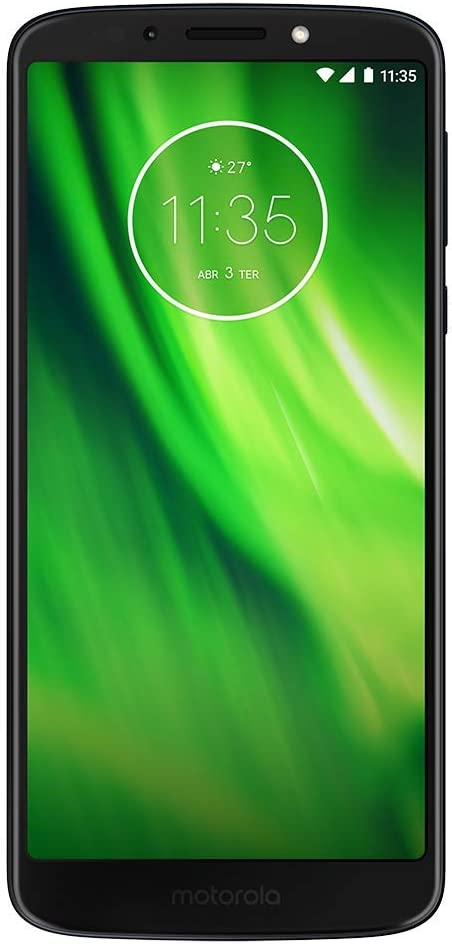 Boost Mobile MOTO G6 Play with 5.7 IPS touch screen fingerprint 16GB Memory Android 8.0 Oreo OS Prepaid Cell Phone, Carrier Locked to Boost Mobile