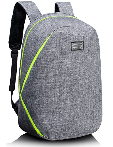 Leaper Anti-Theft Backpack Business Laptop Bag Travel Bag Fits 15.6-Inch Laptop