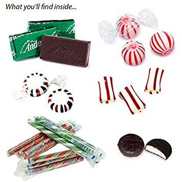 peppermint candy party mix 3 pounds bulk bag of peppermint patties balls