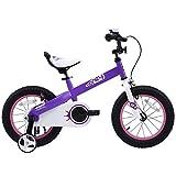 Royalbaby Honey Kid's Bike, Perfect Gift For Kids, Boy's Bike, Girl's Bike, 18 inch wheels, Lilac