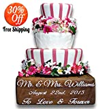 Wedding, cake box, wedding decor