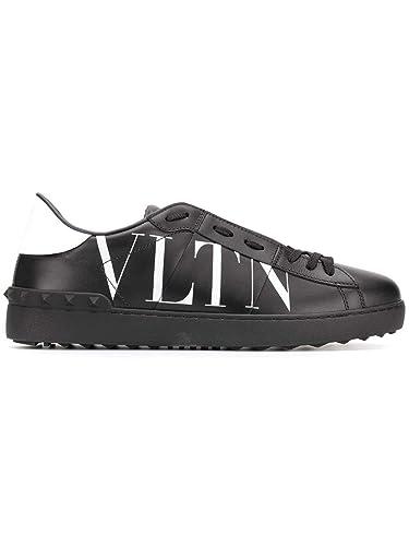 a652ca916b6 Valentino Garavani Homme RY2S0830XZU0NI Noir Cuir Baskets  Amazon.fr ...