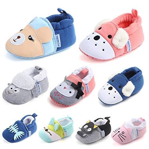 TTMOW Prewalker Newborn Infant Boy Girl Soft Bottom Anti-Slip Baby Toddler Shoes
