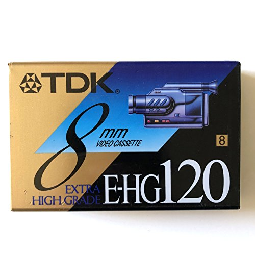 TDK 8mm P6-120 HG High Grade Tape