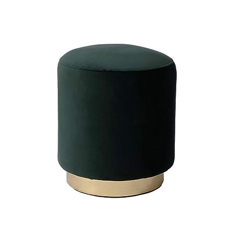 Strange Amazon Com Dutch Homes Velvet Ottoman Pouf Indoor 161618 Pabps2019 Chair Design Images Pabps2019Com