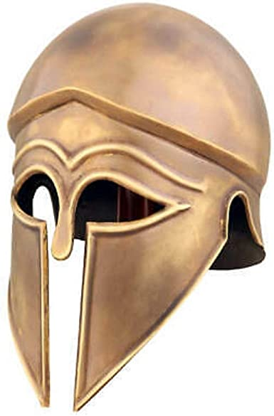 Medieval Wearable Greek Corinthian Helmet Free Leather Liner Knight Helmet