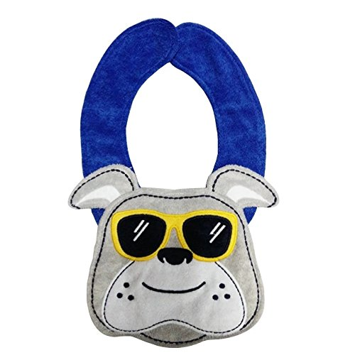 Lil' Oopsies Bibs for Toddlers - Premium Quality, 3 Layered Absorbent & Waterproof Teething, Feeding & Drooling Bibs. Unique Baby Shower Gift for Girls. Suitable for Husky Babies to Toddlers. Dog