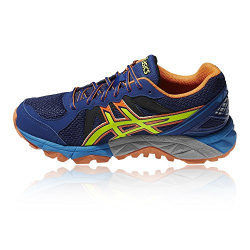 Junior Asics Blue 3 Gel Shoe GS Fujitrabuco Running qw8IxCBw