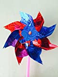 20pcs Classic Windmills 28x16cm Kids Garden Party Toy Festival