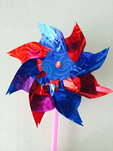 20pcs Classic Windmills 28x16cm Kids Garden Party Toy Festival by Unknown