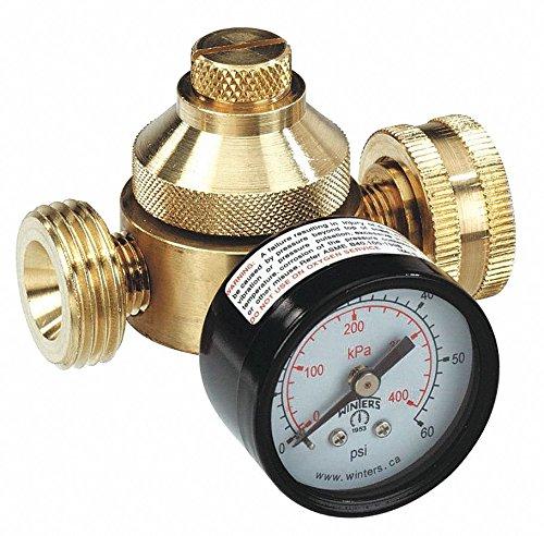 Pressure Regulator, 3/4 In, 10 to 60 psi by Watts (Image #1)