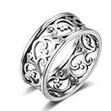 Best Gnzoe Wedding Rings - Gnzoe Sterling Silver Wedding Band Ring for Women Review