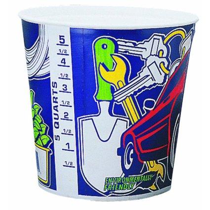 Leaktite Throw Away Paint Pail Liner 5 Qt, 50-Pack by Leaktite