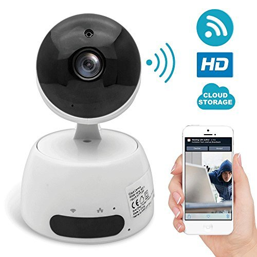 WiFi Security Camera,1080P 2M Wireless IP Camera with Pan Tilt Zoom,TOP-MAX 2 Way Audio WiFi Surveillance Video Camera CCTV Cam with Night Vision and Motion Detection for Baby/Elder/Pet/Nanny Monitor