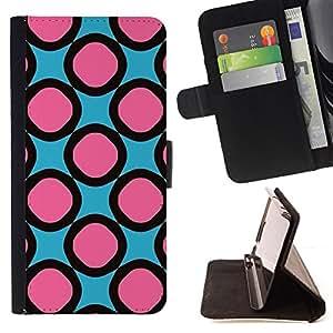 - pink pattern rings girly/ Personalizada del estilo del dise???¡¯???¡Ào de la PU Caso de encargo del cuero del tir???¡¯????n del s - Cao - For HTC DESIRE