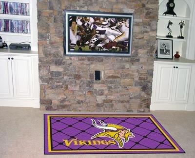 NFL - Minnesota Vikings 4 x 6 Rug