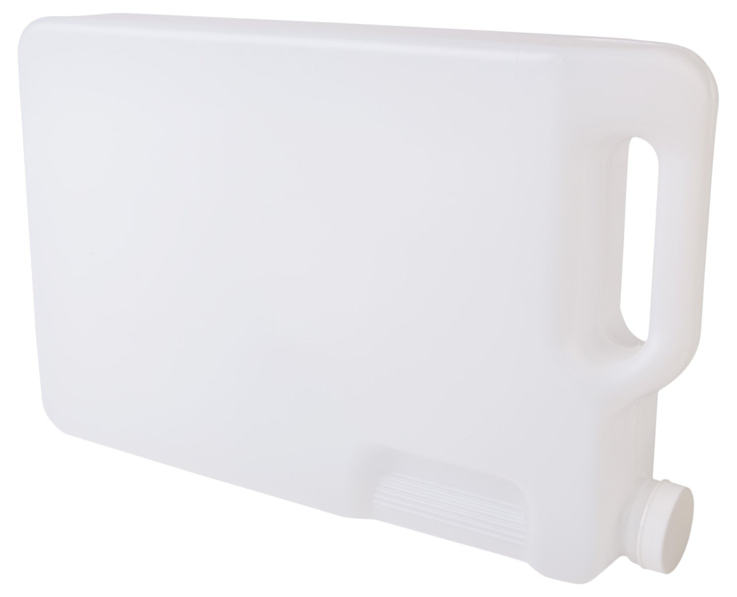 Hudson Exchange 5 Liter Hedpak Container with Cap, HDPE, Natural, 4 Pack