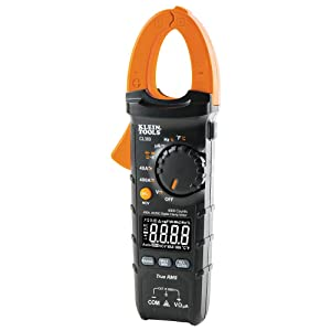 Klein Tools CL380 Digital Clamp Meter, AC/DC 400A Auto-Ranging Non-Contact Voltage tester with LCD Display