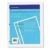 National 20121 Rip Proof 20-lb Reinforced Filler Paper Unruled 11 x 8-1/2 WE 100 Sheets/Pk