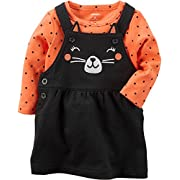 Carter's Baby Girls' 2 Piece Cat Bodysuit And Jumper Set 6 Months