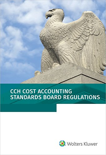 Cost Accounting Standards Board Regulations as of 01/2018