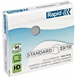 Rapid 24869400 - Caja de 1000 grapas, 23/12, galvanizado, Unidades contenidas: 1