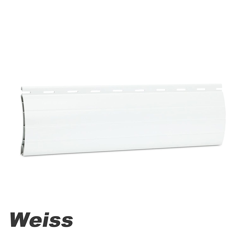 Maxi Rolladenpanzer PVC Ma/ßanfertigung Wunschma/ß 75cm-200cm Breite x 190cm H/öhe