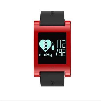 LNYF-OV Relojes Deportivos Smart Watch Inteligente Monitoreo Salud Paso Análisis Sueño Presión Arterial Ritmo Cardíaco Pantalla OLED Crystal Case IP67 ...