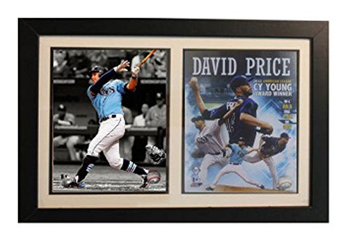 Encore MLB Tampa Bay Rays 12x18 Framed David Price CY Young Award Winner Print