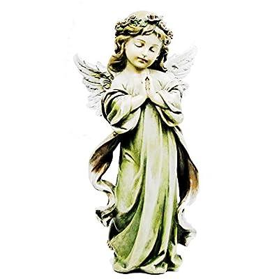"""Napco Little Girl Angel Statue, 12.75"""" : Garden & Outdoor"""