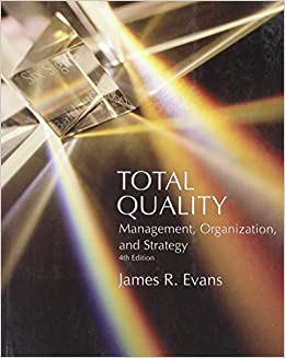 Book Total Quality: Management, Organization and Strategy by James R. Evans (2004-11-01)
