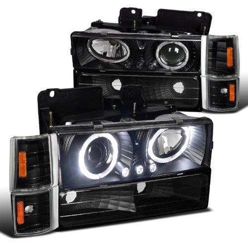 Projector headlights bumper Corner lights